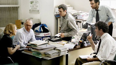 We Went to See Investigative Journalism Film 'Spotlight' with an Investigative Journalist