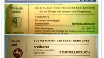 Was hinter Bordell-Freikarten für Flüchtlinge steckt