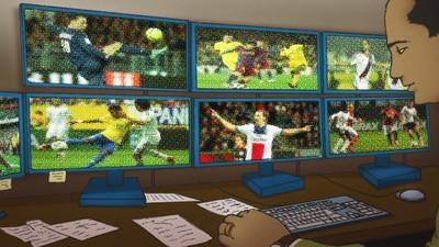 A vida de quem avalia jogadores de futebol para os games