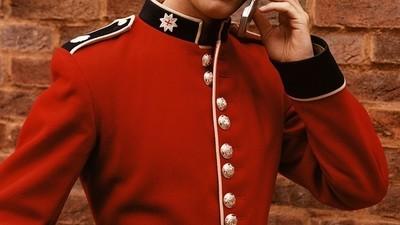 L'Uniforme et l'humanité des soldats anglais