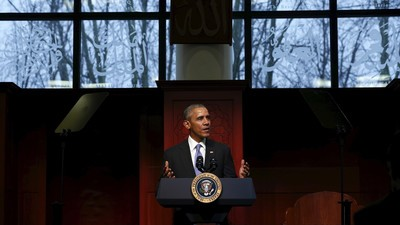 Obama on Visit to Mosque: 'An Attack on One Faith Is an Attack on All Our Faiths'