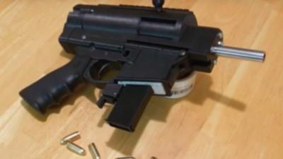 YouTuber baut sich halbautomatische Waffe im 3D-Drucker