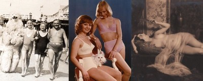 Germany's Forgotten Photos: Lingerie, Christmas Trees and Erotica