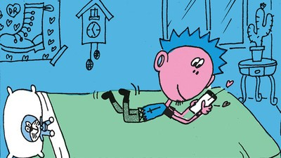 Phil Gets a New Pet in Today's Comic from Jim Pluk
