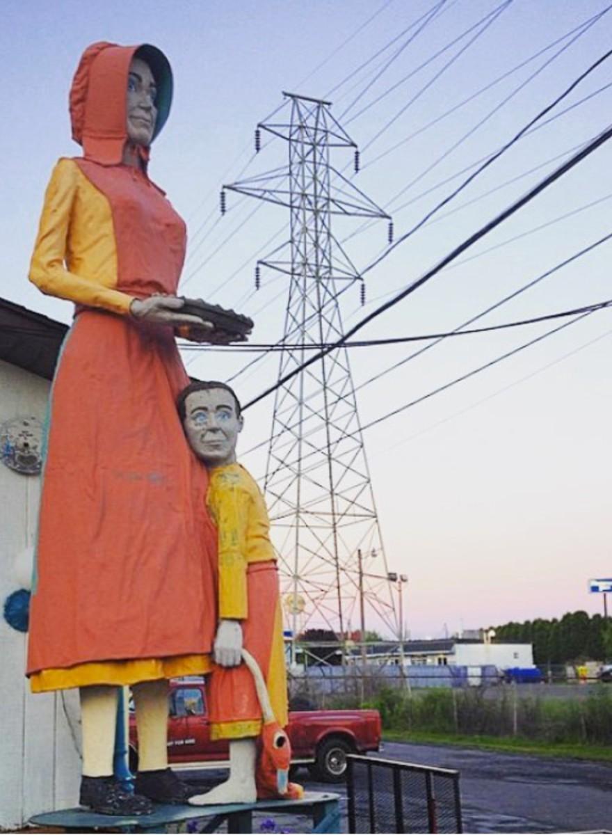 Foto's van een denkbeeldige roadtrip door Amerika