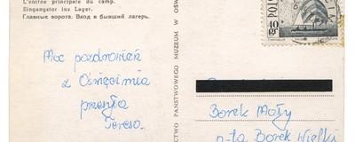 """Pocztówki z Auschwitz: """"Transport gorących pozdrowień z Oświęcimia"""""""