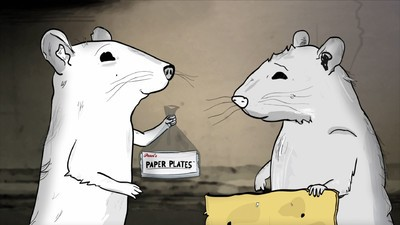 'Animals' Shows Us NYC from the Perspective of a Bunch of Filthy Cartoon Rodents