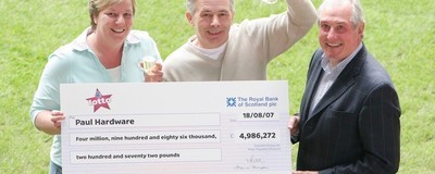 Here's What Happens to You Just After You Win the Lottery
