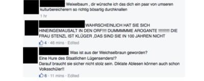 Mirjam Weichselbraun hat gestern den Zorn der FPÖ auf sich gezogen