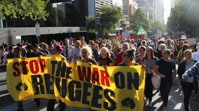 We Asked Protesters About Anger at Melbourne's 'Let Them Stay' Rally