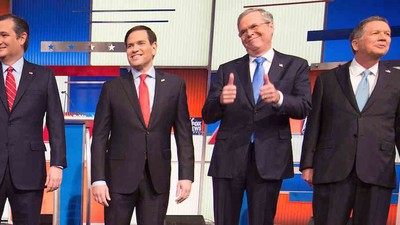 What to Expect from Tonight's Republican Debate in New Hampshire
