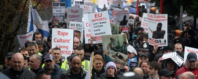We Saw Pegida UK's Damp and Dull Anti-Islamic March in Birmingham