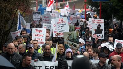 We Saw Pegida UK's Damp and Dull Anti-Islamic March in Birmingham