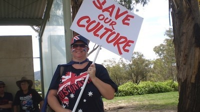 Canberra's Reclaim Australia Rally Was Small on Numbers but Big on Signs