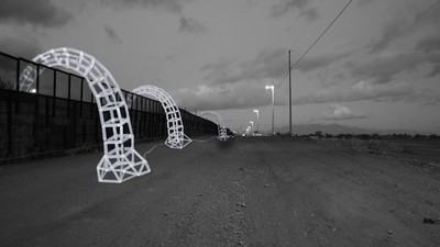 Robotic Sculptures Will Cross the US-Mexico Border