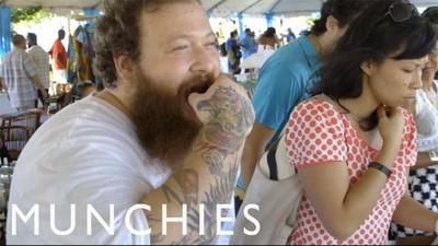 Am mers cu rapperul Action Bronson la un festival de mâncare