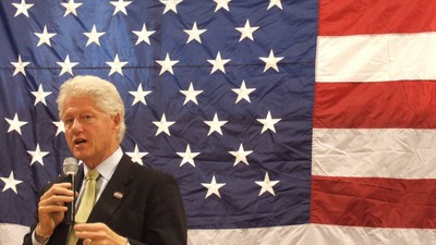 Bill Clinton Says Bernie Sanders Supporters Are 'Trolling' Hillary Fans