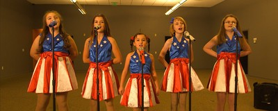 Watch Our Interview with the Patriotic Preteen Girls Singing Donald Trump's Praises