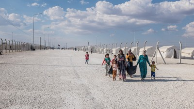 We Follow the Syrian Refugee Trail on This Friday's Episode of Our HBO Show