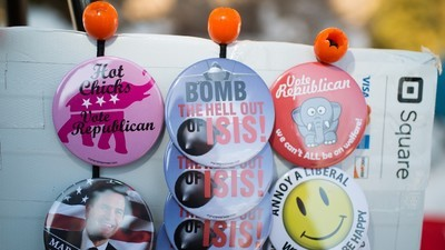 The Vendors Selling Political Swag Are the Real Winners at the New Hampshire Primary