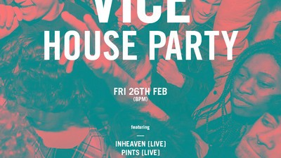 We're Throwing Another VICE House Party in London