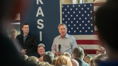 New Hampshire Voters Are Loving John Kasich Because They Hate the Other Republicans