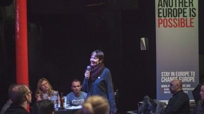 Britain's Pro-Europe MPs and Activists Held a Forum In a Shoreditch Nightclub