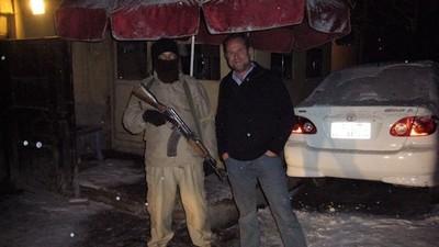 Así de jodido fue dirigir un tugurio en Kabul en plena guerra