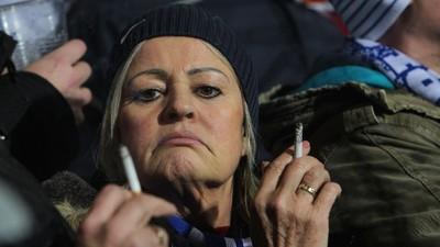 Auf Elvis' Spuren: Bochums Raucher gegen die Bayern
