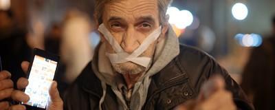 Cum a fost la protestul dubios împotriva legii defăimării a lui Liviu Dragnea