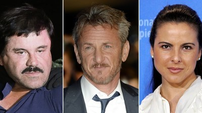 Kate del Castillo Was 'Stabbed in the Back' by Sean Penn over El Chapo