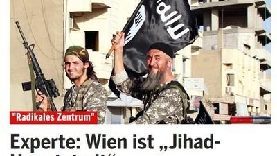Warum die Meldung von der ,Jihad-Hauptstadt Wien' falsch ist