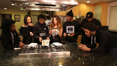 Baking Vegan Blueberry Muffins with Waka Flocka Flame