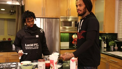 Waka Flocka Flame Shows Us How to Bake Delicious Vegan Blueberry Muffins