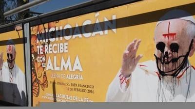 El santo de los narcos, el culto a la santa muerte y el Apóstol de las causas perdidas esperan al Papa en México