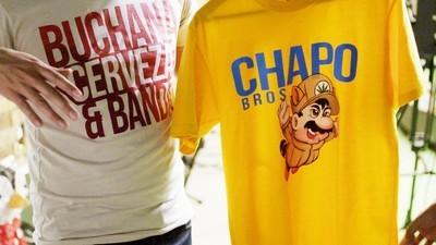 T-shirts en taco's: de fans van El Chapo en de slimme ondernemers die aan ze verdienen