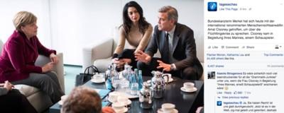 Warum das Posting der ,Tagesschau' zu Amal Clooney kein Witz ist