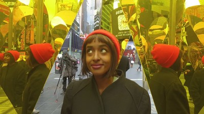 We Check Out a Valentine's Day Kissing Booth in Times Square on Today's 'Daily VICE'
