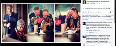 Heinz Fischer hat jetzt schon den Valentinstag gewonnen <3