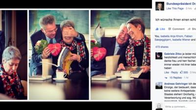 Heinz Fischer hat jetzt schon den Valentinstag gewonnen