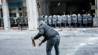 We Met the Angry Young Farmers Protesting Pension Reforms in Greece