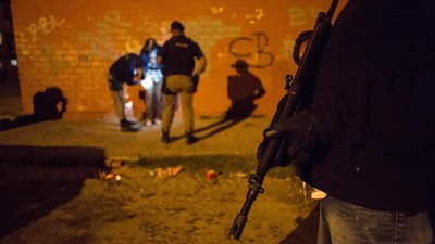 Patrolling One of the World's Deadliest Drug Zones with Its Anti-Gang Cops