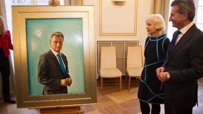 Günther Oettingers Suizidfantasien wegen Petry lassen tief in seine Waffenseele blicken