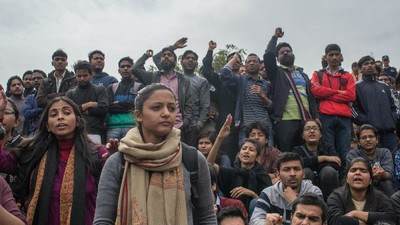 Indian Students Are Protesting for Their Right to Speak Against the Government