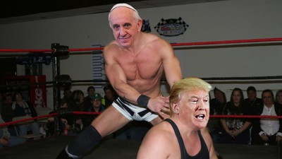 Donald Trump Is Beefing with the Pope Now