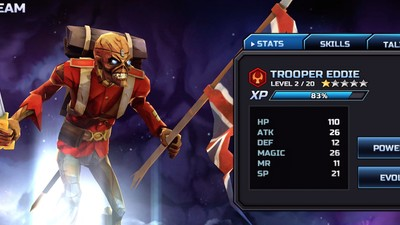 The Incoming Iron Maiden Mobile Game Doesn't Look That Awful