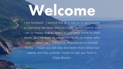 Memo to Americans Afraid of Donald Trump: Cape Breton is Not a Progressive Paradise