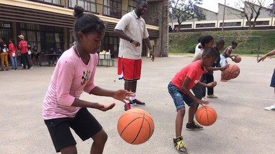 How Is Basketball Like Coding? Ask the Kids at This Madagascar Tech Camp