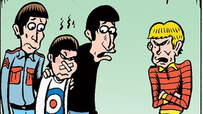 The Who Needs Help in Today's Comic from Peter Bagge