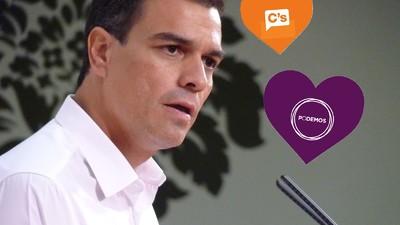 Pedro Sánchez y el poliamor del PSOE